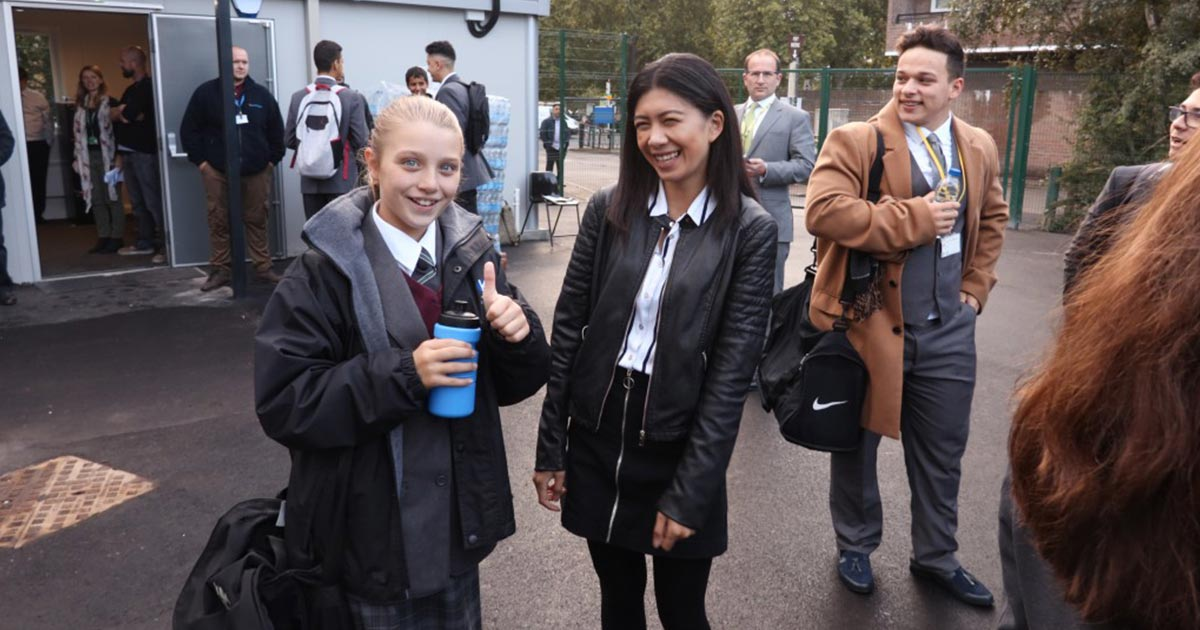 EOC Services help Grenfell Tower school children