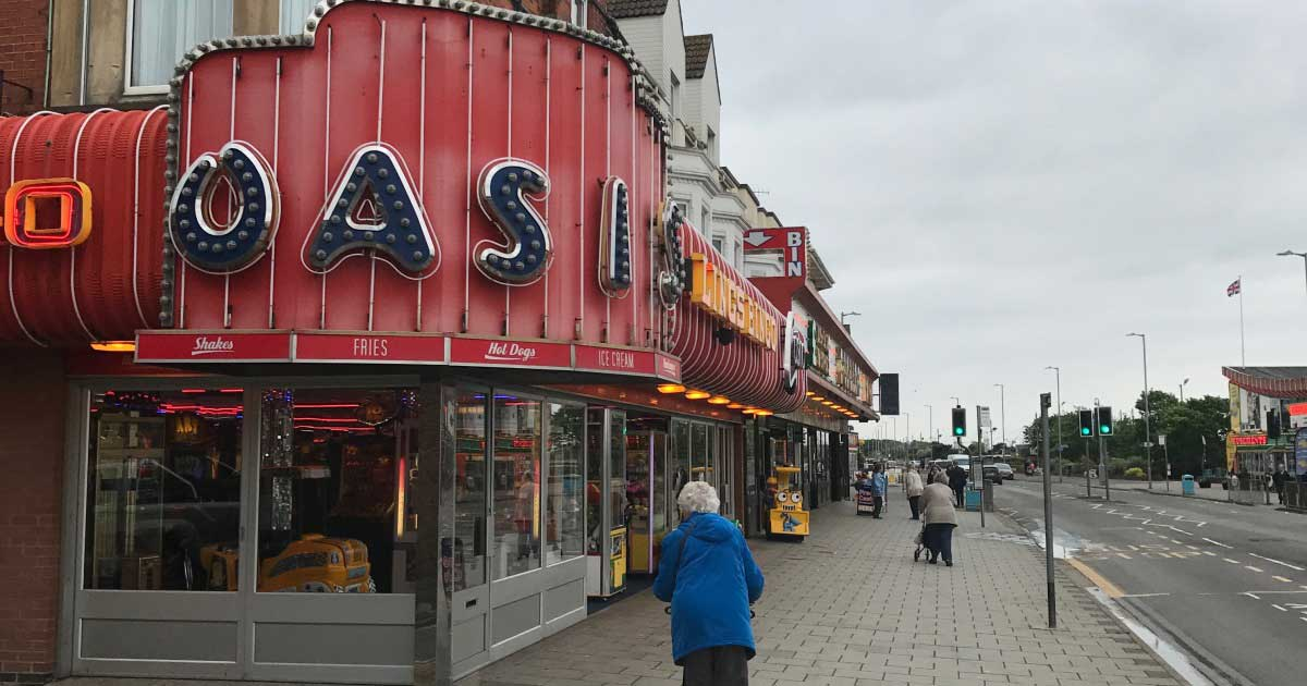 Oasis Amusements, Grand Parade, Skegness, Lincolnshire